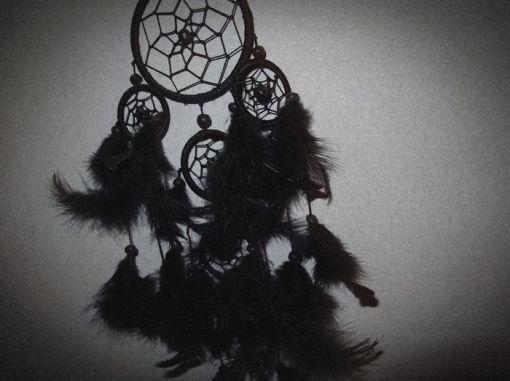 art-bampw-black-and-white-dream-catcher-Favim.com-401490